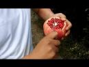 Как правильно разрезать гранат