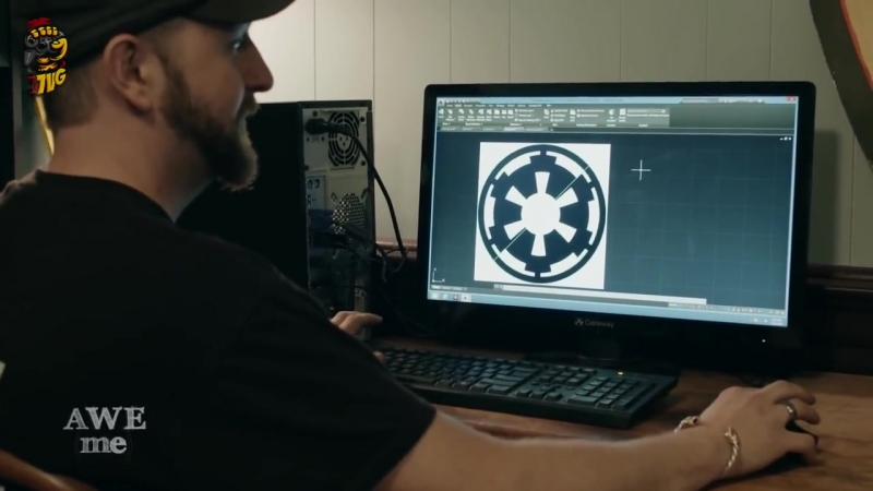 Оружейный Мастер - Световая Катана из Star Wars - Man at Arms Reforged на русско