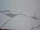 А вот наша ледовая обстановка в Карском море с вертолета