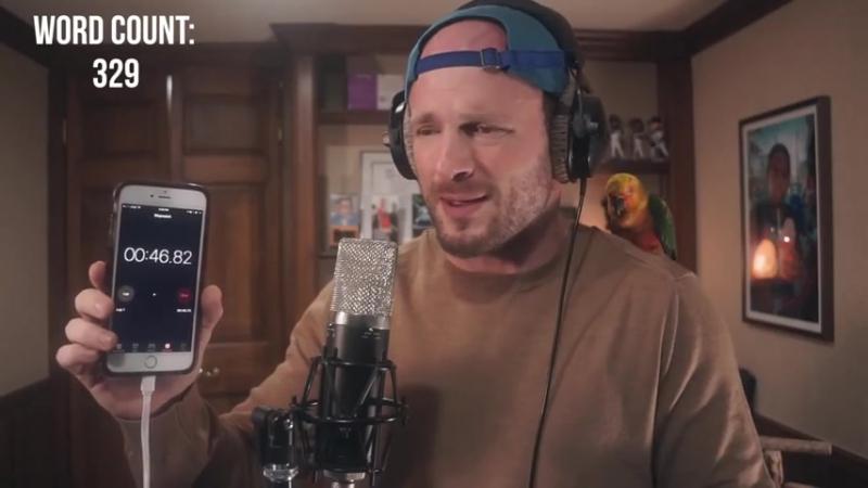 Рэпер разогнался до 400 слов в минуту/IT'S TIME VIDEO