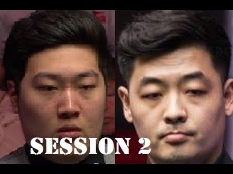 Tian Pengfei 田鹏飞 v Yan Bingtao 颜丙涛 (session 2) | R2 World Snooker Championship Qualifiers 2018