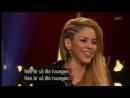 Shakira interview on Skavlan!