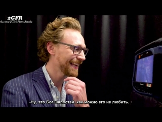Rus(sub)Tom Hiddleston Surprises Fans Dressed As Loki Avengers Infinity War