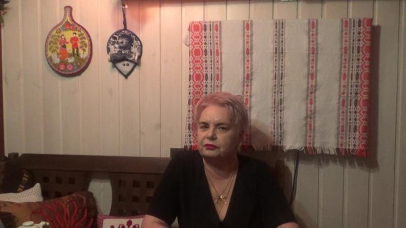 Ольга Сергеевна Соина читает стихи А. Ахматовой