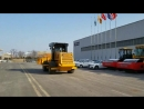 SNSC Landfill Compactor Test before shipment