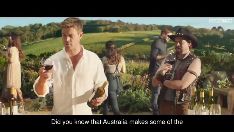 DUNDEE Super Bowl Trailer (2018) Chris Hemsworth, Danny McBride Comedy Movie HD