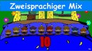 Zehn in einem Bett Dieci in un letto Zweisprachiges Kinderlied Deutsch Italienisch