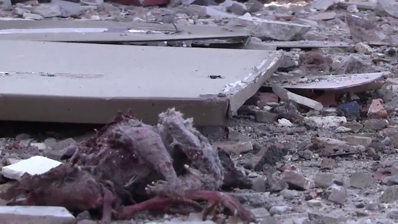 Special: Scenes of the extent of the destruction resulting from the hostile missile attacks on an industrial facility in the village of Malikya in the countryside of Aleppo