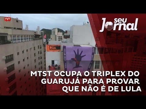 MTST ocupa o triplex do Guarujá para provar que não é de Lula