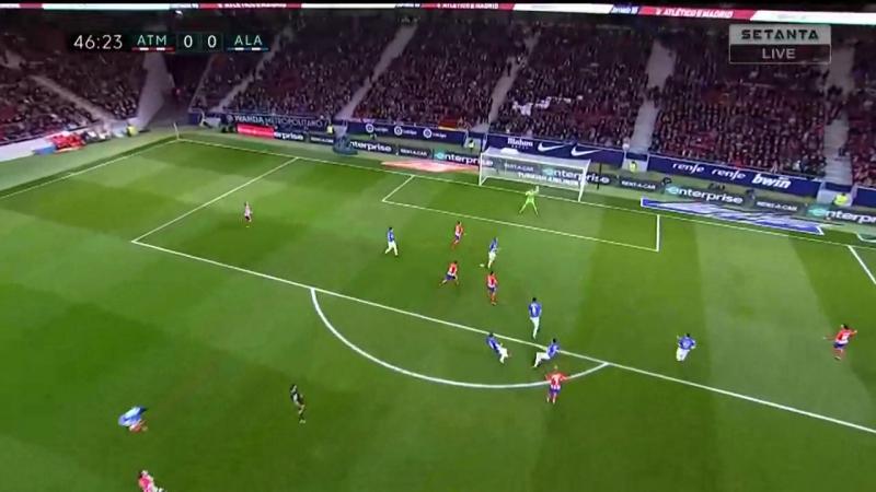 Атлетико Мадрид 1–0 Алавес. Обзор матча (Футбол. Чемпионат Испании) 16 декабря