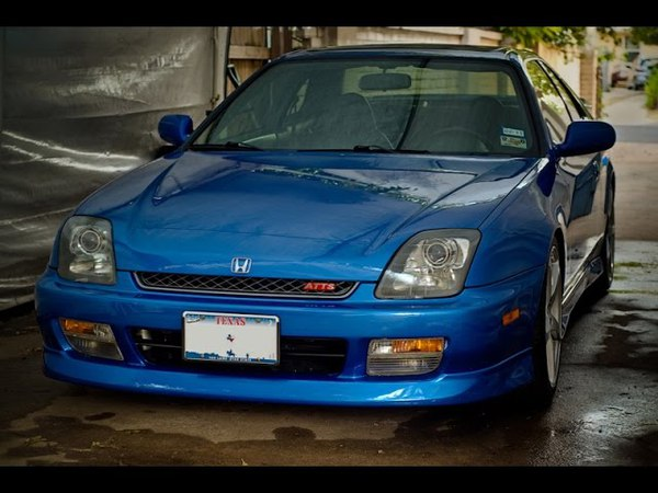 Brutal Honda Prelude exhaust sound compilation