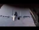СУ-30 ЗАГЛЯНУЛ ВНУТРЬ ТРАНСПОРТНИКА - Комментарии иностранцев _ Russian Su-30 fantastic maneuver ( 1080 X 1920 )