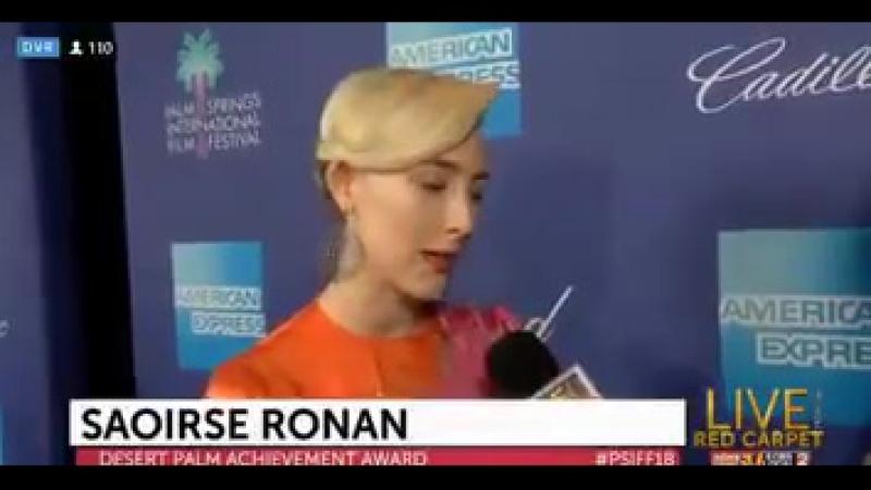 2018 ›› Интервью во время Международного кинофестиваля в Палм-Спрингс