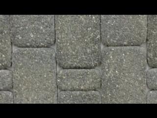 Тротуарная плитка Старый город стоун-топ кристаль черный блеск Ландшафт