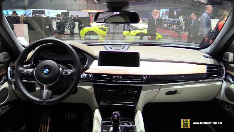 2016 BMW X6 M50d xDrive by AC Schnitzer - Exterior and Interior Walkaround - 2016 Geneva Motor Show