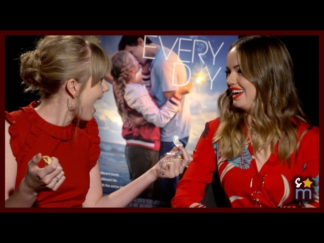 EVERY DAY Cast Plays Fill In the Blank Opens Fortune Cookies | Angourie Rice, Debby Ryan Interview