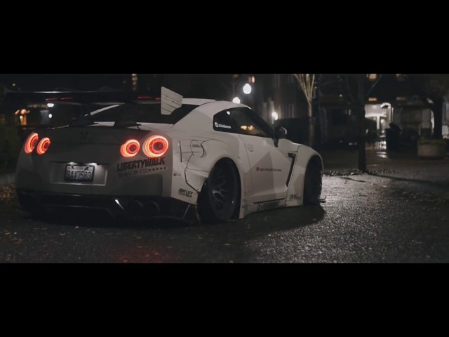 STRANGER THINGS - Jaden's Liberty Walk Nissan GT-R R35 w/ ARMYTRIX Exhaust