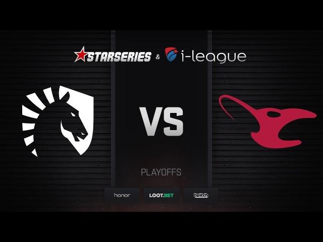 Liquid vs mousesports, map 1 mirage, StarSeries i-League Season 4 Finals