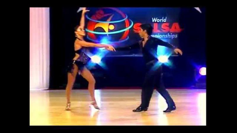Emilse Montero Gerson Rivas (Cabaret Division) (World Salsa Championships) (Colombia)