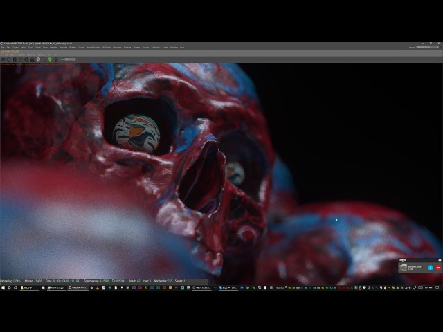 Diego Conte Ash Thorp Concept Art Pipeline in Cinema 4D p 1 Learn Squared Live Stream