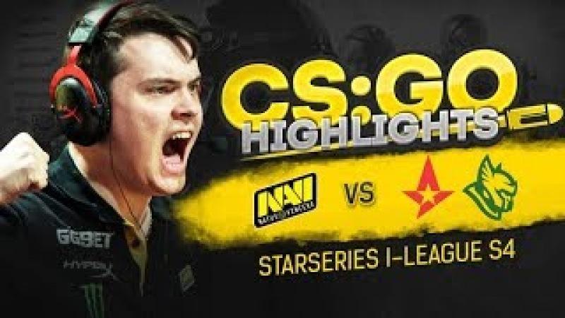 CSGO Highlights: NAVI vs Astralis, Heroic @ StarSeries i-League S4