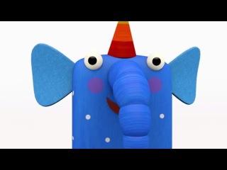 Деревяшки - Большой сборник мультиков для малышей - Мультики малышам