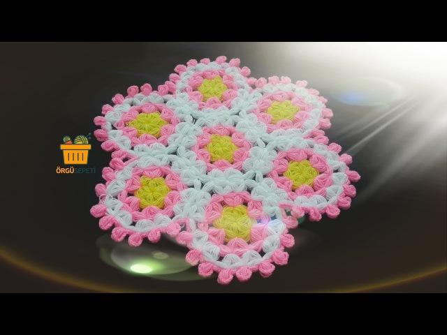 Desenli Yuvarlak Lif Anlatımlı Yapımı | knitting designs