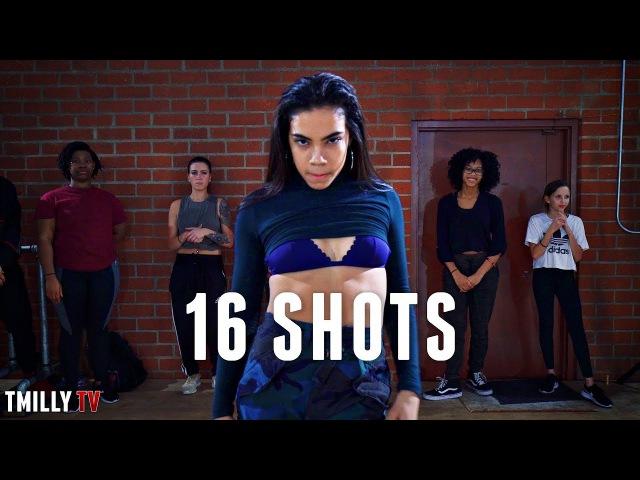 Stefflon Don - 16 Shots - Choreography by Tricia Miranda - Filmed by @TimMilgram - TMillyTV