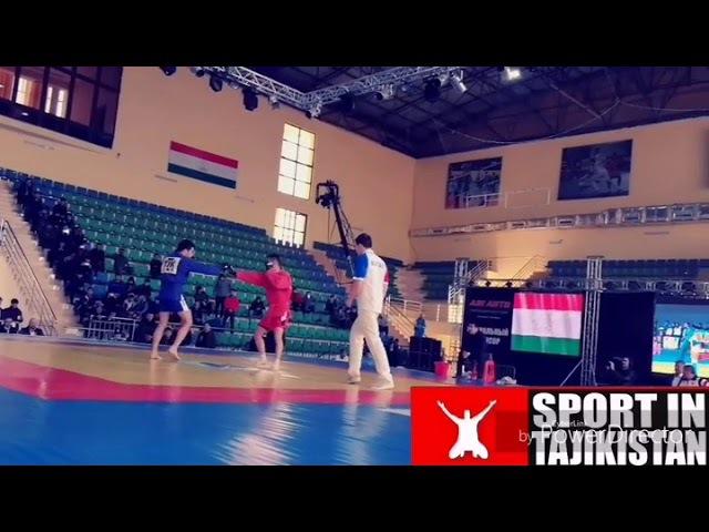 Муин Гафуров против кыргызского бойца бой за выход финал