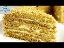Торт Медовик Заварной САМЫЙ ВКУСНЫЙ РЕЦЕПТ Торт Медовый Заварной Рыжик Как приготовить медовик