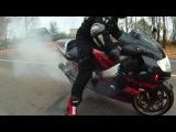 Клип о конце мото-сезона в Беларуси (Suzuki GSX R1000 K2)