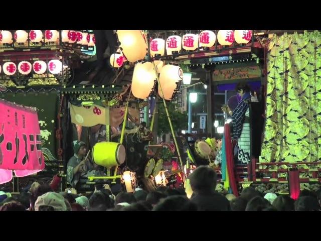 川越まつり2010初日夜、HDR XR500で撮影