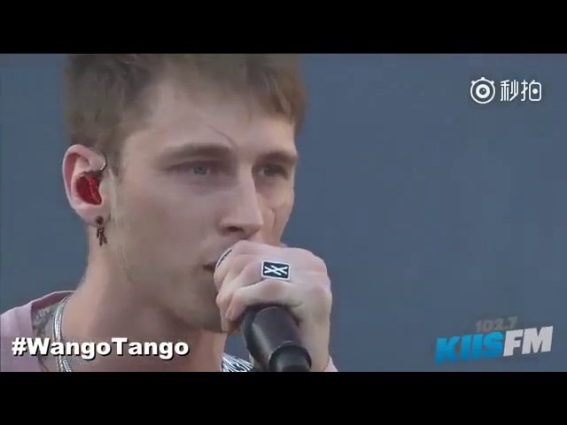 Machine Gun Kelly and Hailee Steinfeld - at my best live , Let you go at Wango Tango 2017