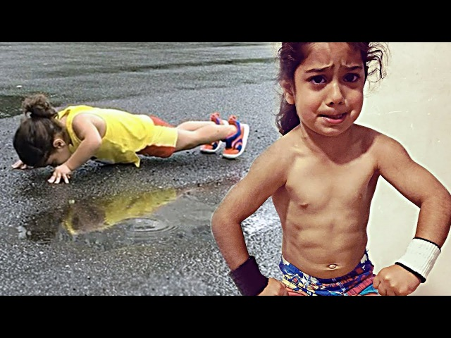 Strongest Kids - Gymnastics Boy Arat Hosseini (3 Years Old)