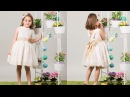 Vestido de arras REVISTA PATRONES INFANTILES Nº 6
