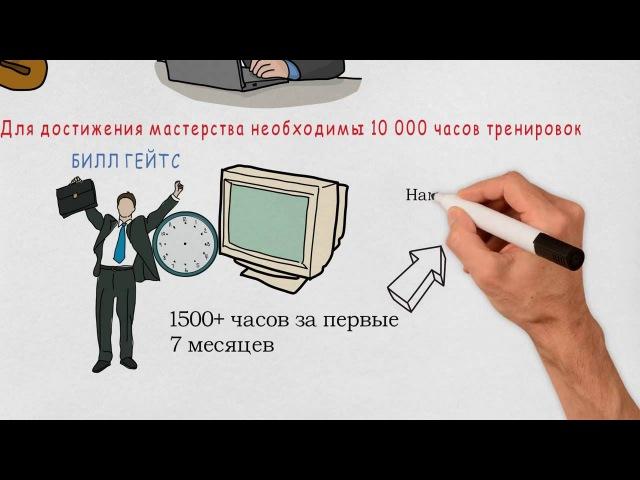 10000 часов - это секрет успеха
