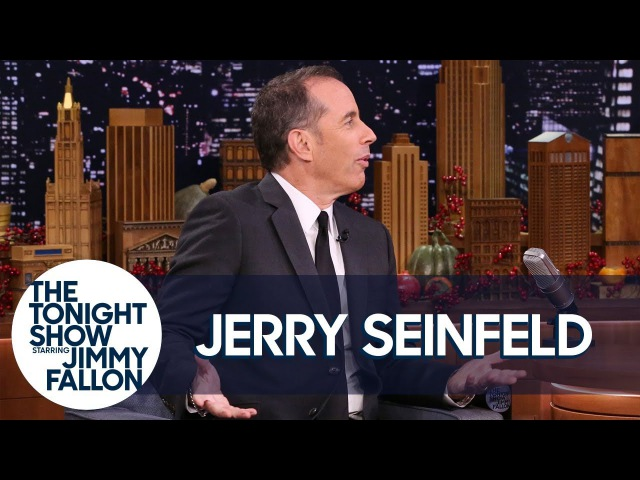 Jerry Seinfeld's Stand-Up Material Fills Up an Entire NYC Street