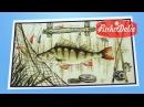 Вышивка Марья Искусница для рыбака «Удачной рыбалки» - обзор набора от Интернет-