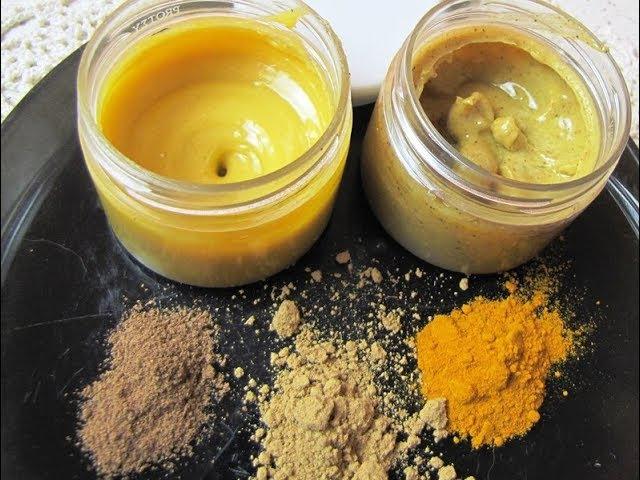 Два крема на основе из сливочного масла и пчелиного воска.