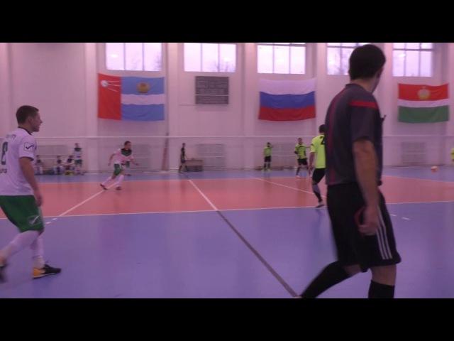 ФК «BazaCity» - ФК «ОКБ МЭЛ» - 1 тайм