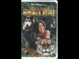 Opening To The Jungle BookMowgli's Story 1998 VHS