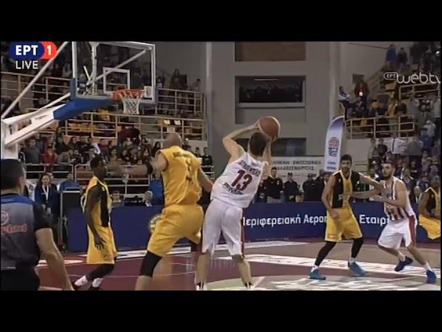 Greek Cup final - Olympiacos - AEK 83-88 The last minute