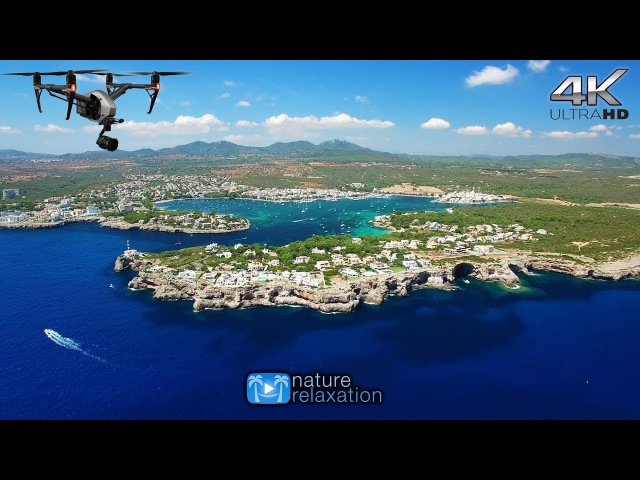 4K DRONE FILM Mallorca Canary Islands (Spa Music) 1HOUR Nature Relaxation™ Aerial Ambient Film