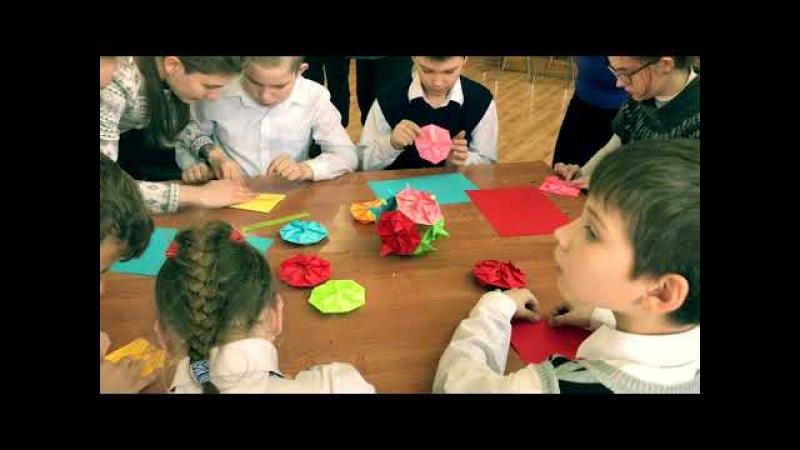 Волонтерский корпус КГТУ в школе-интернат п. Б.Исаково 14.02.2018 г.