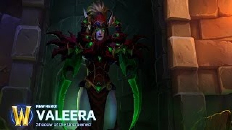 Heroes Of The Storm★Valeera Sanguinar★Home Menu