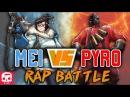 MEI VS PYRO RAP BATTLE by JT Music Overwatch vs TF2
