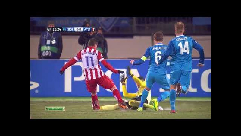 Зенит 1-1 Атлетико Мадрид / 26.11.2013 / FC Zenit vs Atlético Madrid