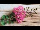 Jak zrobić papierowe kwiaty | Kreatywne tworzenie | Kwiaty z bibuły