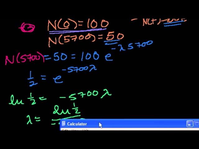 Доказательство формулы экспоненциального распада (можно пропустить, содержит много вычислений) ljrfpfntkmcndj ajhveks 'rcgjytywb