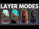 How to Use Layer Modes in Digital Art Multiply, Overlay, etc.